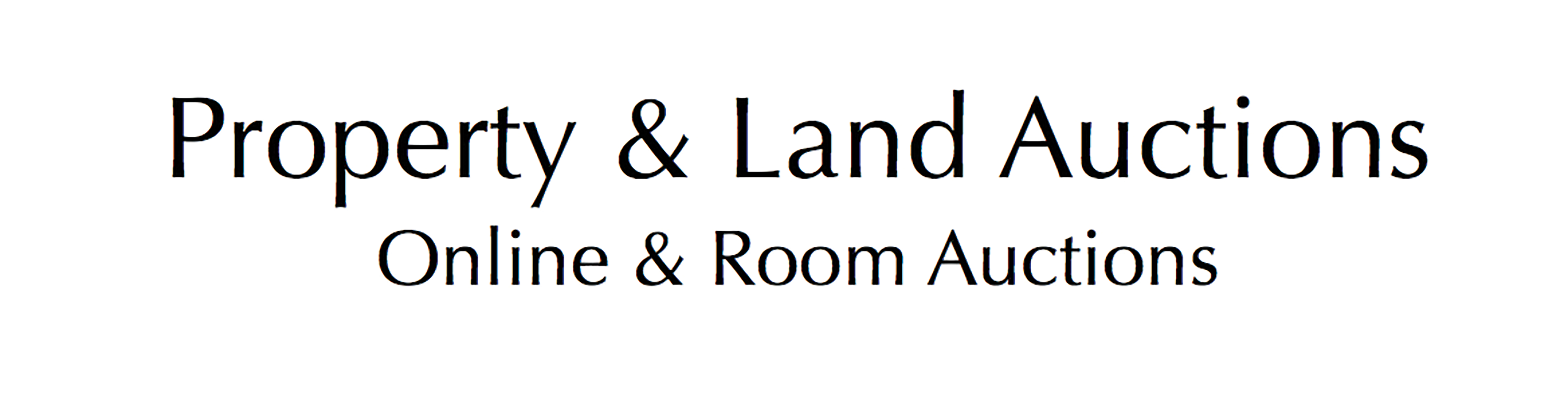 Property and Land Auctions